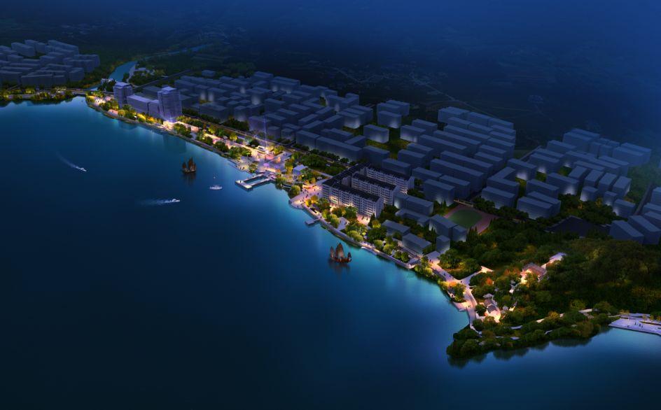 理想连线富春湾堤护岸及景观绿化工程